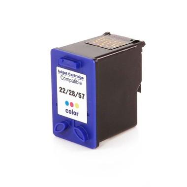 Cartucho de Tinta Compatível HP 22xl/28xl/57xl Colorido | 15ml - Novo Linha Premium