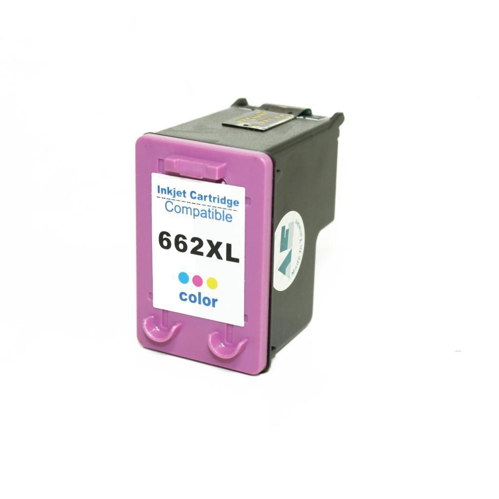 Cartucho de Tinta Compatível HP 662xl Colorido | 10ml - Novo Linha Premium