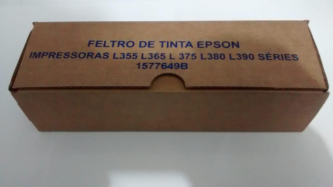 Feltro Absorvente Compatível para EPSON L110 L210 L220 L355 L375 L380 L455