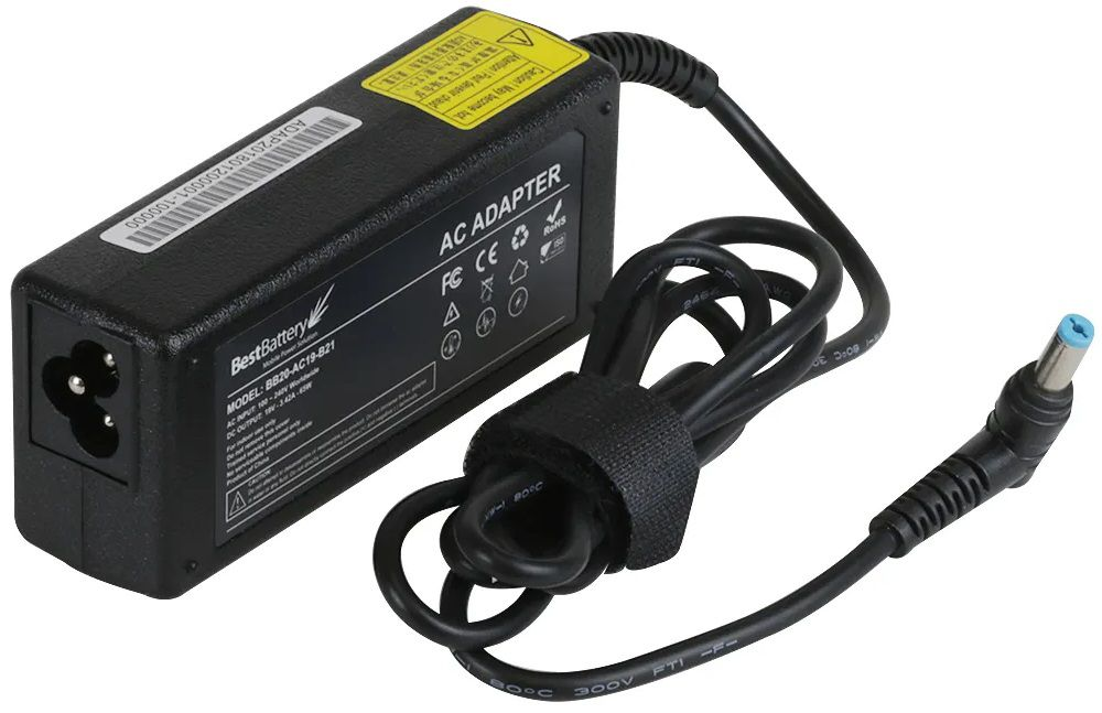 FONTE COMPATÍVEL PARA NOTEBOOK ACER - 19V 3.42A 65W - 5.5mm x 1.7mm