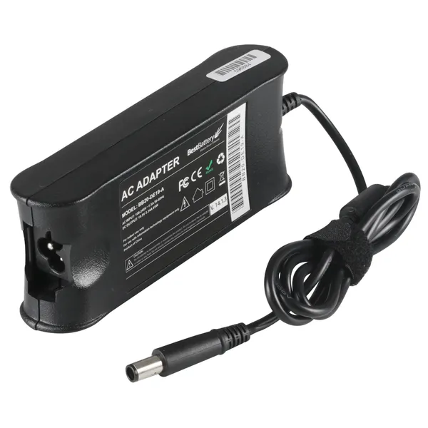 FONTE COMPATÍVEL PARA NOTEBOOK DELL - 19.5V 4.62A 90W - 7.4mm x 5.0mm