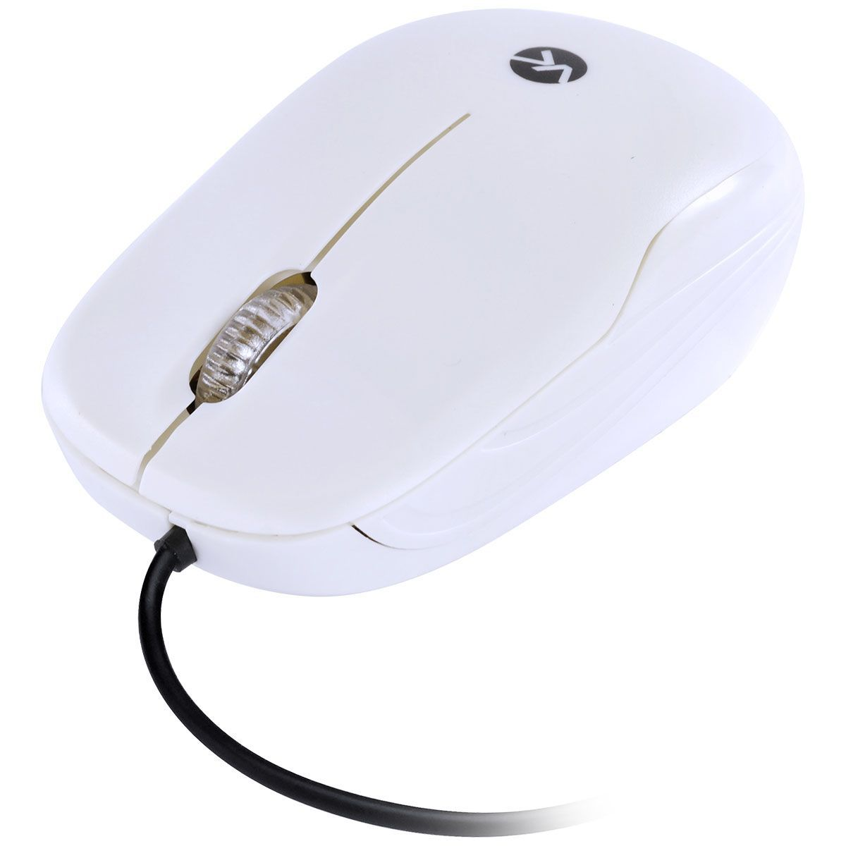 MOUSE USB DYNAMIC COLOR 1200DPI 1.8MTS BRANCO DM138 - VINIK