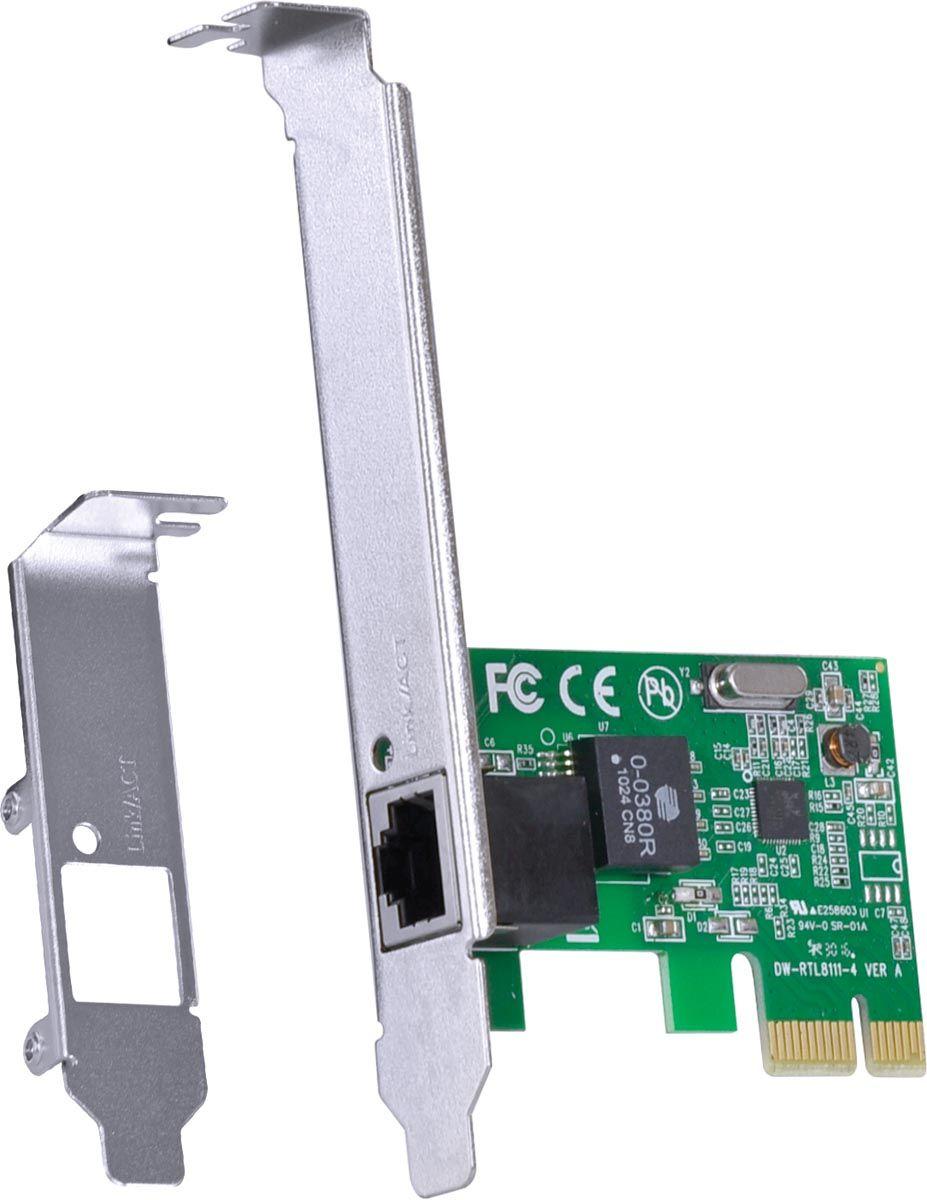 PLACA DE REDE 10/100/1000 PCI-E PRV1000E - VINIK