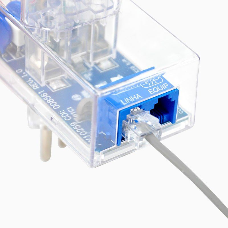 Protetor de Surto DPS CLAMPER Energia + Tel