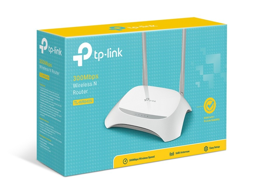 Roteador Wireless TP-LINK TL-WR840N 300 Mbps