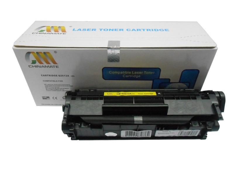 Toner Compatível CHINAMATE / EVOLUT HP Q2612A 12A | para HP 1010 1012 1015 1018 1020 1022 3015 3030 3050