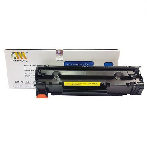 Toner Compatível CHINAMATE HP 435A|436A|285A Universal para HP P1005  P1505  P1006 P1102  M1132