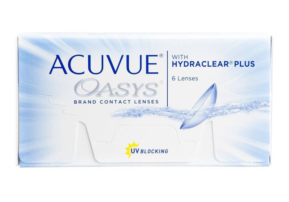 COMBO ACUVUE OASYS PAGUE 6 LEVE 8 CAIXAS