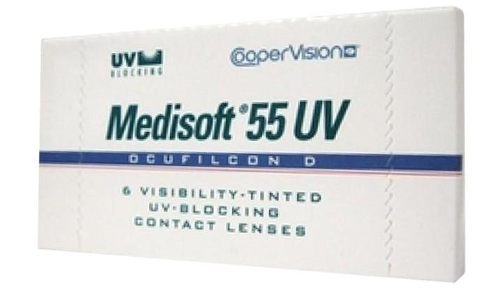 MEDISOFT 55UV- CAIXA COM 6 LENTES DE CONTATO