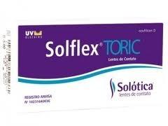 SOLFLEX ASPHERIC 55 UV TORIC- CAIXA COM 6 LENTES DE CONTATO