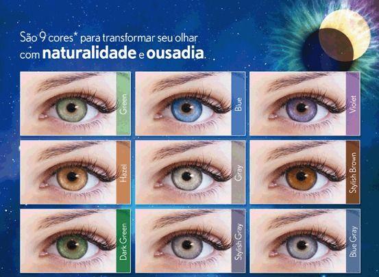 b84c0c26e ... LUNARE TRI KOLOR- UNIDADE LENTE DE CONTATO - Uso Anual - Óptica Cia dos  Óculos ...