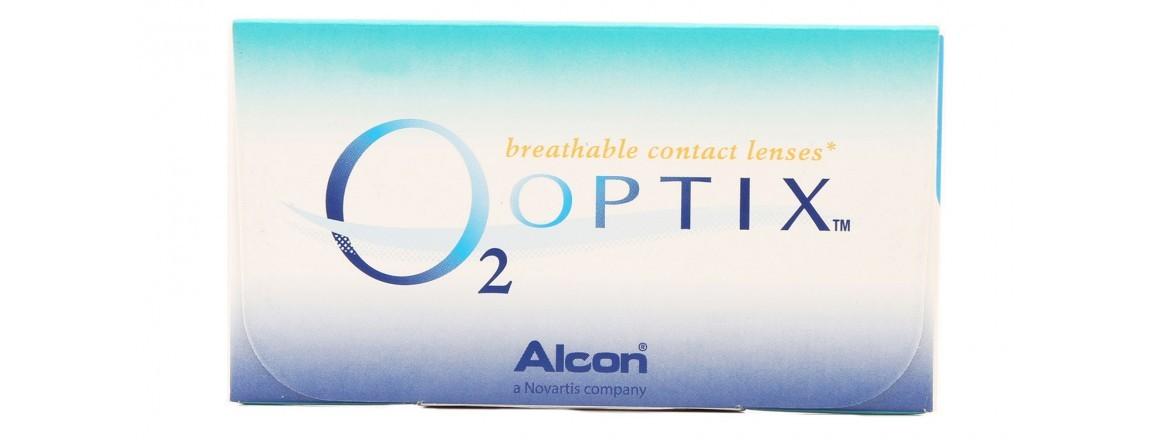 O2 OPTIX- CAIXA COM 6 LENTES DE CONTATO