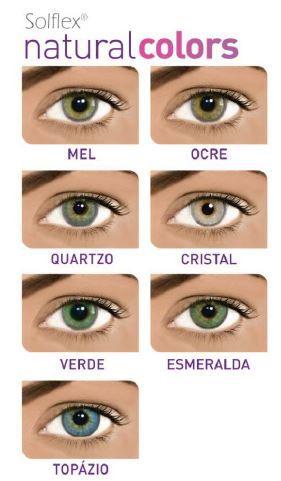 2195c9146 ... SOLFLEX NATURAL COLORS- PAR DE LENTES DE CONTATO - Óptica Cia dos Óculos