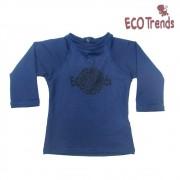 Camiseta com proteção solar manga longa Azul Marinho