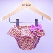 Fralda de piscina Sunga Ecotrends - Melancia Rosa