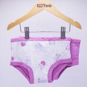 Kit com 2 calcinhas de transição/desfralde Ecotrends  - Gato