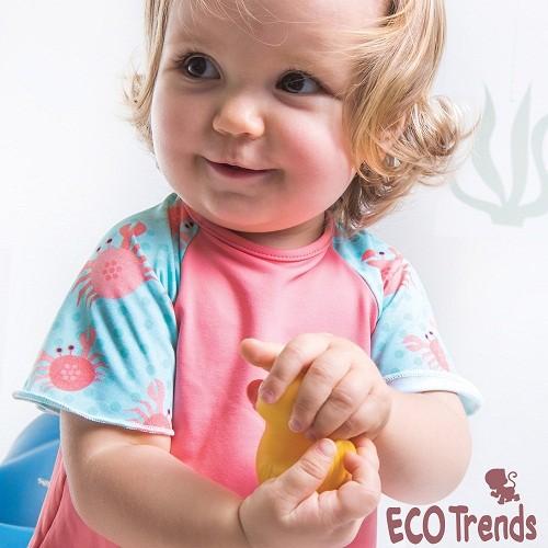 Camiseta com proteção solar manga curta Siri  - Ecotrends