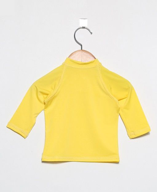 Camiseta com proteção solar manga longa Ecotrends - Amarela