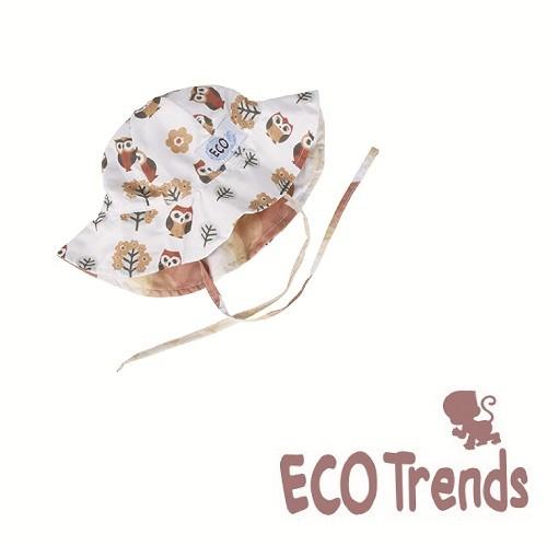 Chapeu com proteção solar coruja  - Ecotrends