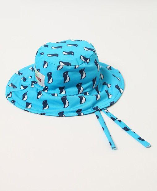 Chapéu com proteção solar Ecotrends - Pinguim