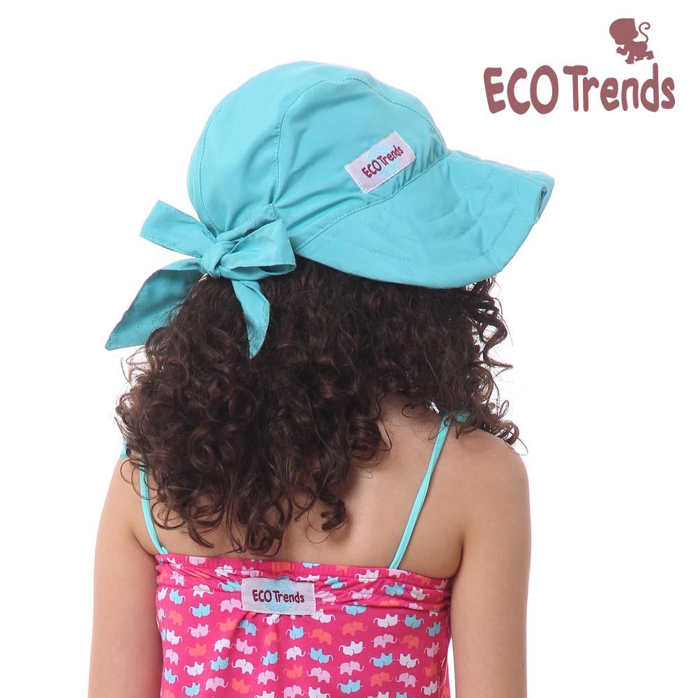 Chapéu com proteção solar Laço Turquesa