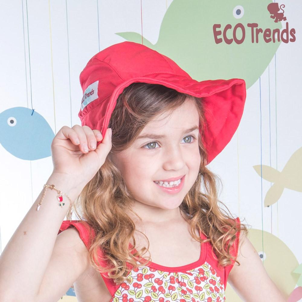 Chapeu com proteção solar Laço Vermelho  - Ecotrends