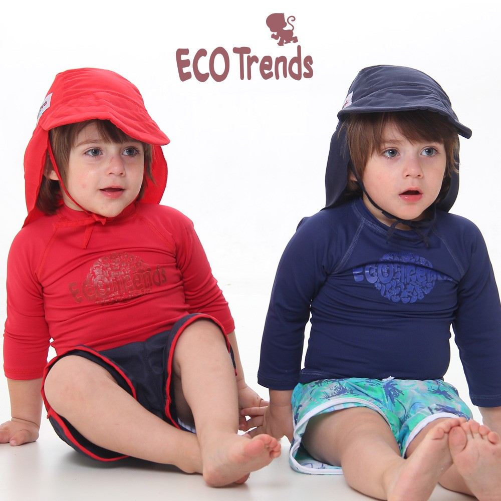 Chapeu com proteção solar Legendário Azul  - Ecotrends