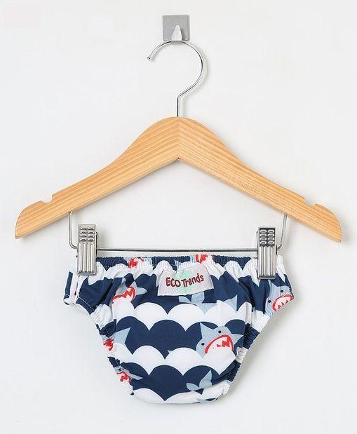 Fralda de piscina Sunga Ecotrends - Tubarão