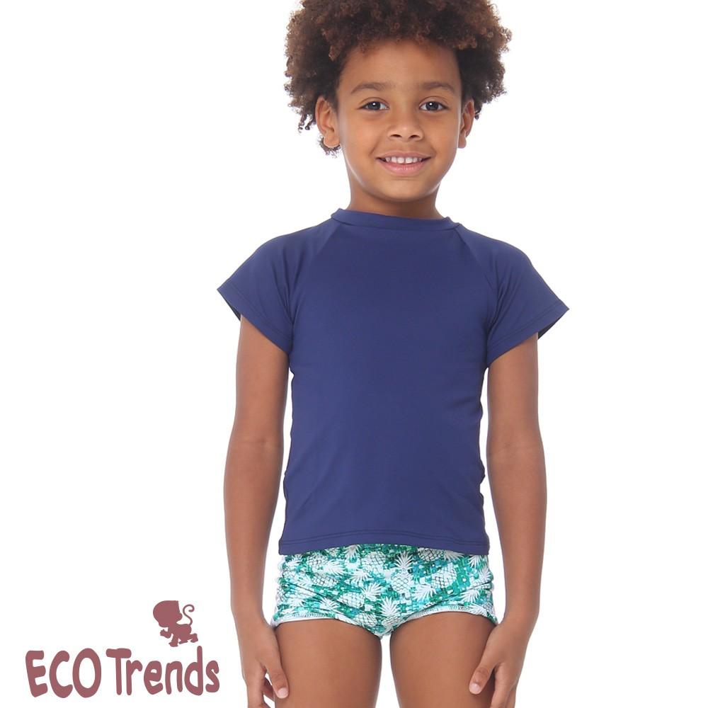 Sunga boxer infantil Abacaxi  - Ecotrends