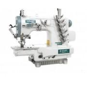Máquina de Costura Galoneira Eletrônica Cilíndrica com Refilador Siruba C007KD-W812-364/CRL/UTP C/SM