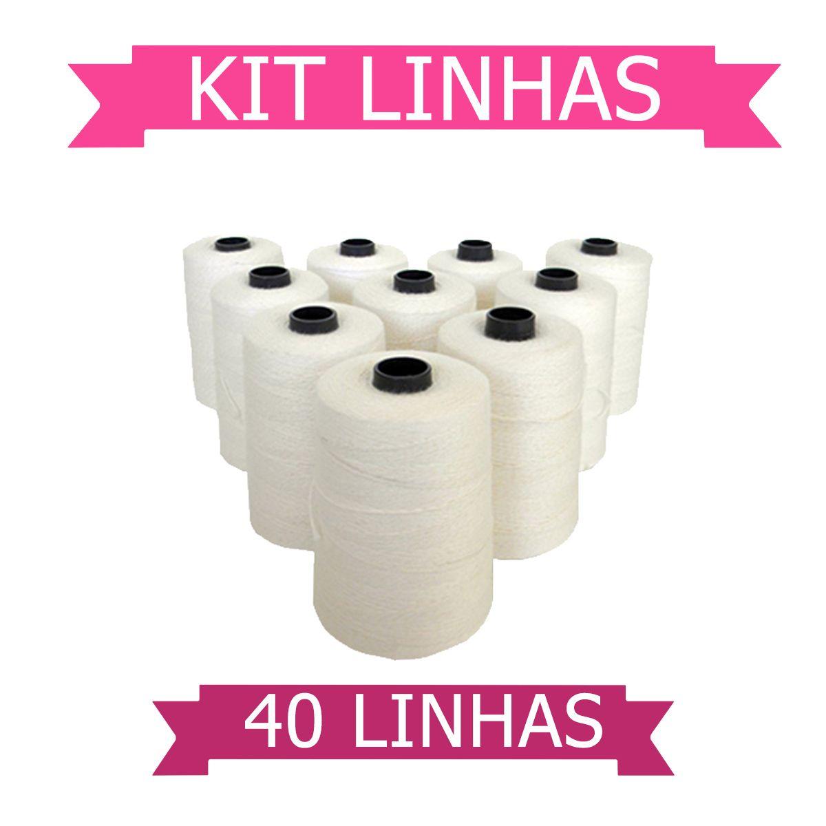 Kit 40 Linhas