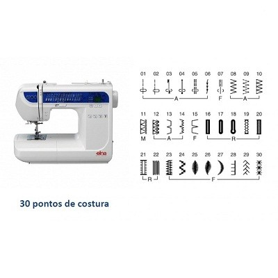 Máquina de Costura Elna 5200