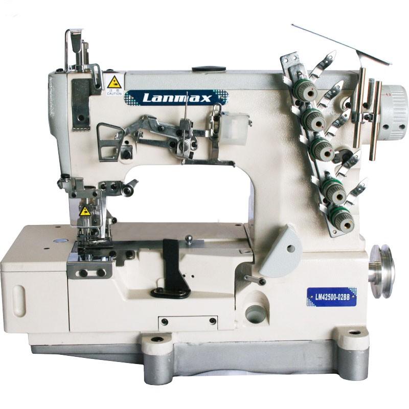 Máquina de Costura Galoneira de Base Plana Aberta Lanmax LM-42500-02BB
