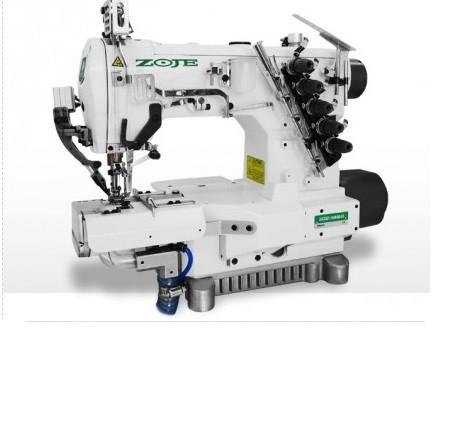 Máquina de Costura Galoneira Eletrônica Cilindrica com Refilador Zoje ZJ-C2521-164M-BD-D3