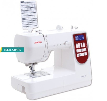 Máquina de Costura Janome DM7200