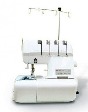 Máquina de Costura Overlock Doméstica Sun Point Branca