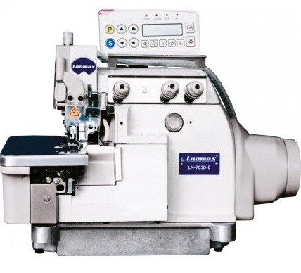 Máquina de Costura Overlock Eletrônica Lanmax LM-703D-E