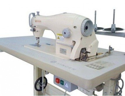 Máquina de Costura Reta Singer Lançadeira Grande