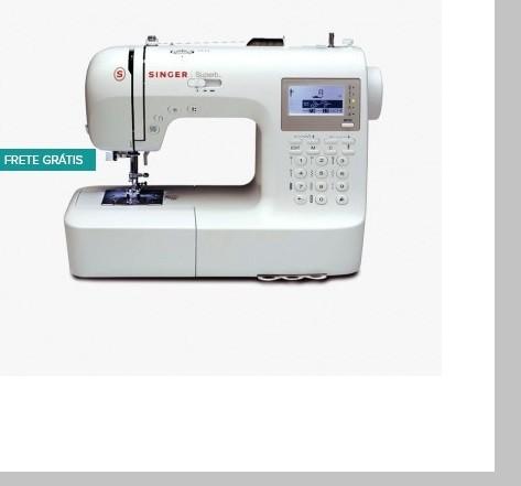 Máquina de Costura Singer Superb 2010 + BRINDE
