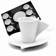 JOGO 06 XICARAS DE CAFE ROJEMAC