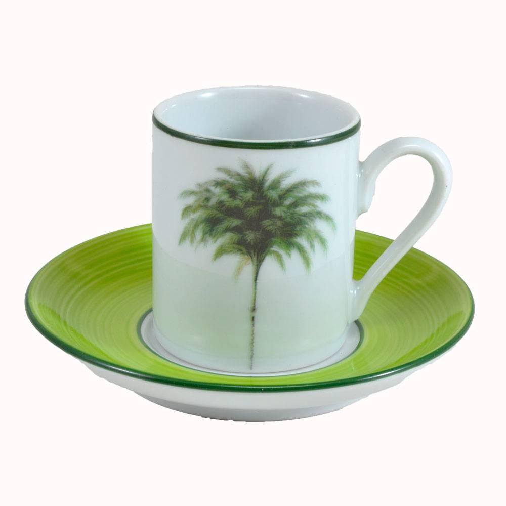 JOGO 6 XICARAS DE CAFE COM PIRES PALMEIRAS SCHMIDT
