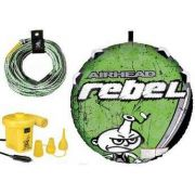 Boia de Reboque Kit Rebel com Corda e Inflador AirHead