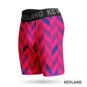 Cueca Boxer Long Leg Kevland Pink Crew
