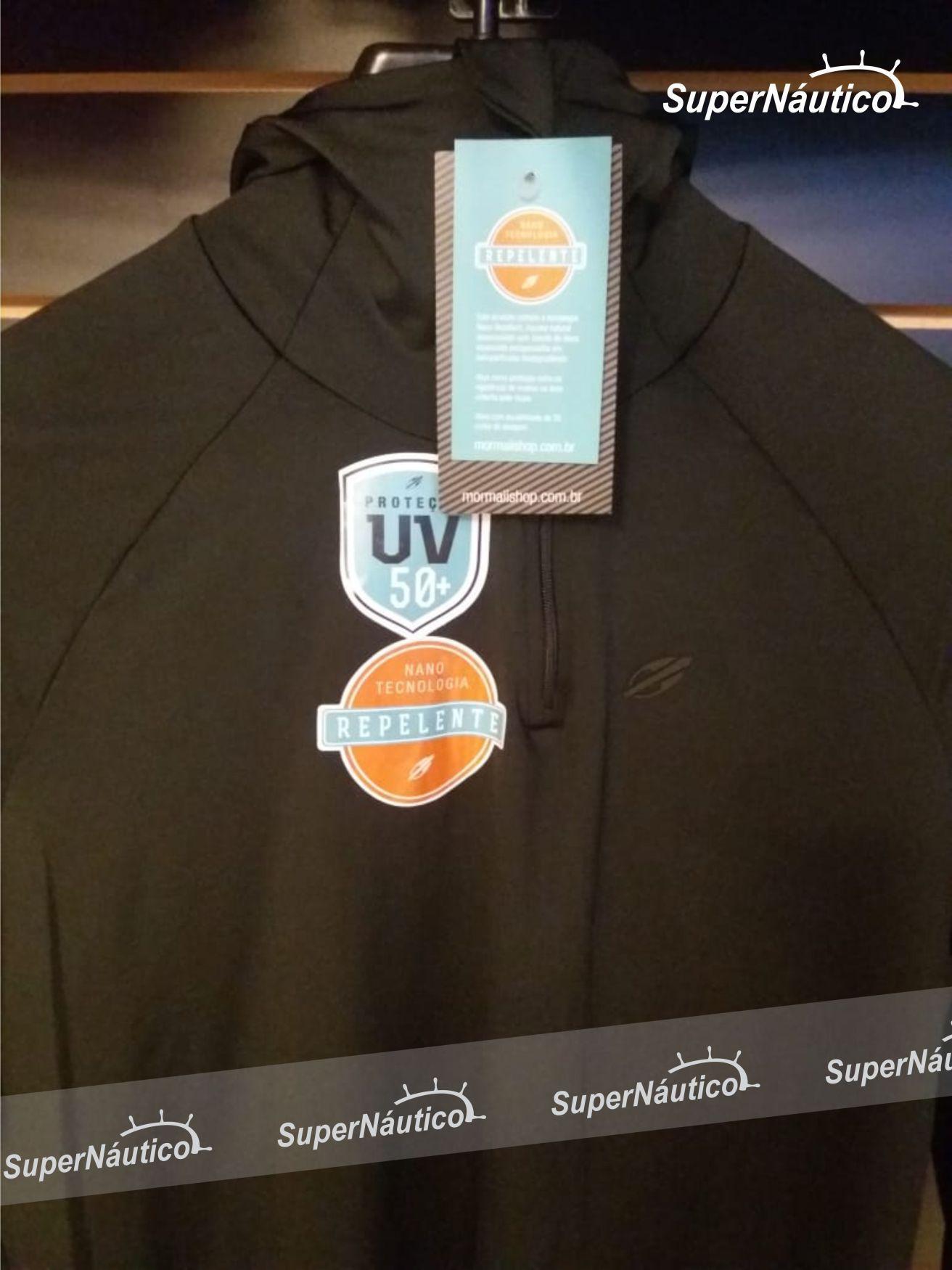 Camisa Dry Mormaii Manga Longa Repelente Contra Insetos e Proteção UV