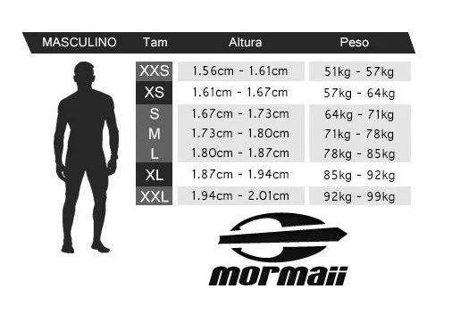 Camisa Mormaii Neoprene+Lycra Snap Manga Longa Proteção Solar UV UPF 50+