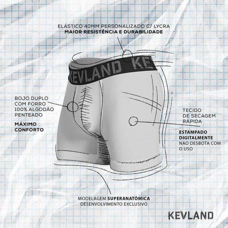 Cueca Boxer Kevland Blue