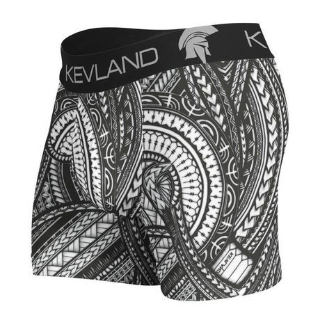 Cueca Boxer Kevland Maori Tattoo