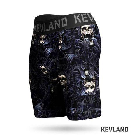 Cueca Boxer Long Leg Kevland Mano Negra