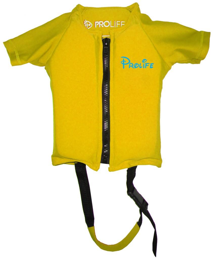 Flutuador Infantil Prolife  em Lycra Manga Curta com Proteção Solar UV UPF 50+