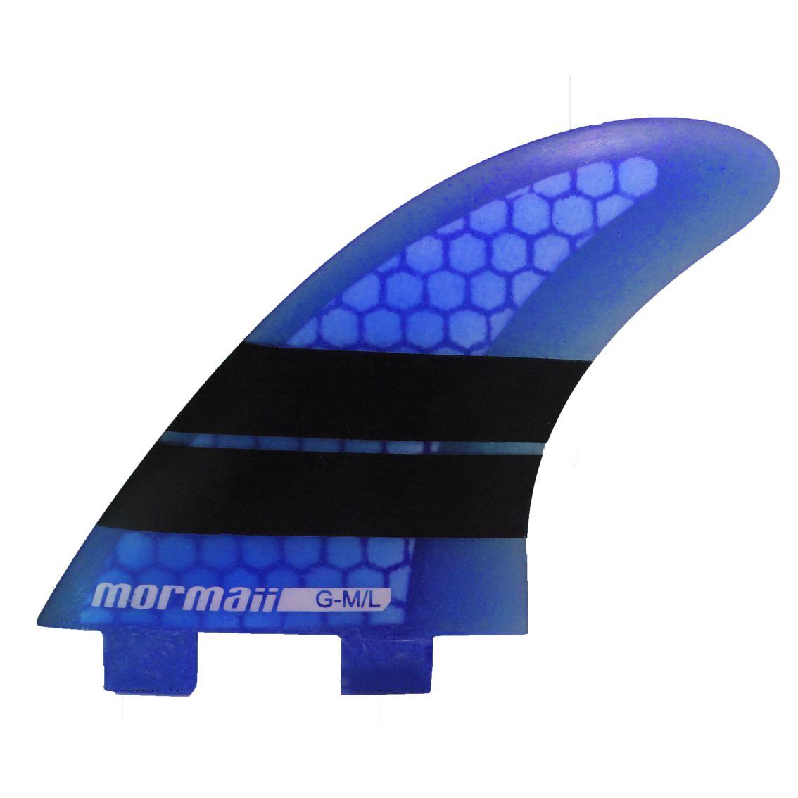 Jogo Tri Quilhas Thruster Glass Speed Mormaii Large